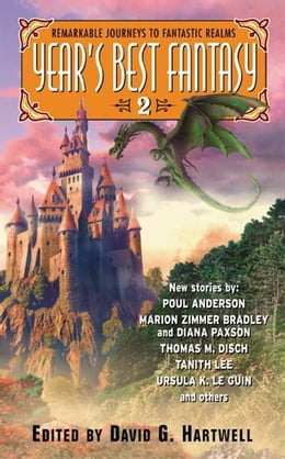 Book Year's Best Fantasy 2 by David G. Hartwell