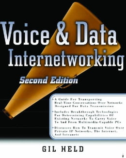 Book Voice & Data Internetworking by Held, Gilbert