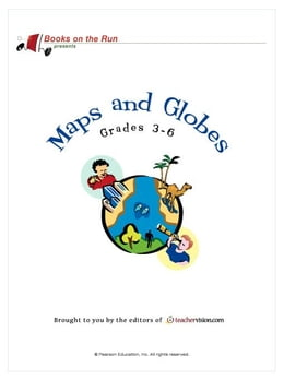 Book Maps and Globes, Grades 3-6 by TeacherVision.com,