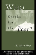 Who Speaks for the Poor: National Interest Groups and Social Policy