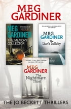 Meg Gardiner 3-Book Thriller Collection: The Memory Collector, The Liar's Lullaby, The Nightmare…