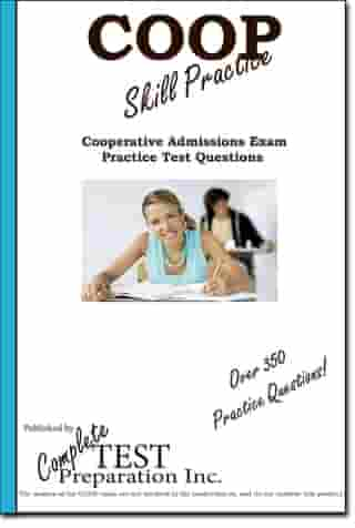 COOP Skill Practice: Practice Test Questions for the Cooperative Admissions Examination Program (COOP)