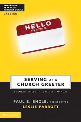 Book Serving as a Church Greeter by Paul E. Engle