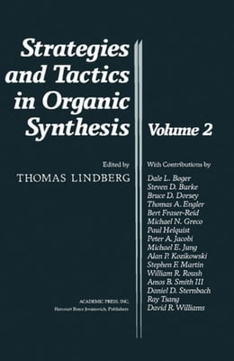 Book Strategies and Tactics in Organic Synthesis by Lindberg, Thomas