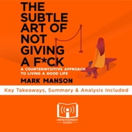 Subtle Art of Not Giving A F*ck by Mark Manson, The