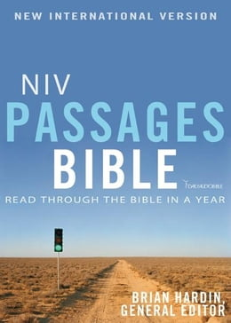 Book NIV, Passages Bible, eBook: Read through the Bible in a Year by Brian Hardin