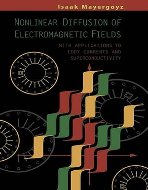 Nonlinear Diffusion of Electromagnetic Fields With Applications to Eddy Currents and Superconductivity