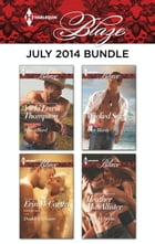 Harlequin Blaze July 2014 Bundle: Riding Hard\Double Exposure\Wicked Sexy\Taken by Storm