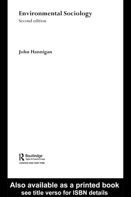 Book Environmental Sociology by Hannigan, John