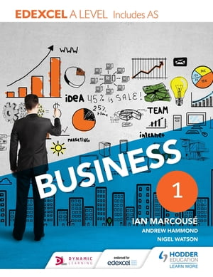 Edexcel Business A Level Year 1 Including AS