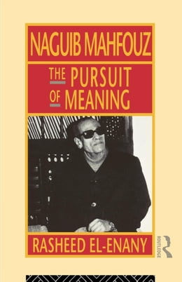 Book Naguib Mahfouz by El-Enany, Rasheed