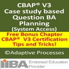 CBAP V3 Case Study Question -BA Planning by LN Mishra