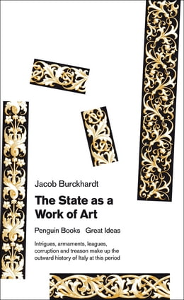 Book The State as a Work of Art by Jacob Burckhardt