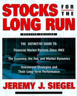Book Stocks for the Long Run by Siegel, Jeremy J.