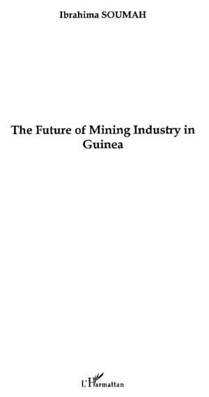 The future of Mining Industry in Guinea by Ibrahima Soumah