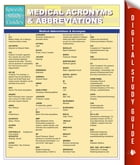Medical Abbreviations & Acronyms (Speedy Study Guides) by Speedy Publishing