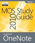 MOS 2010 Study Guide for Microsoft OneNote Exam Deal