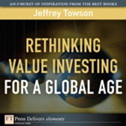 Book Rethinking Value Investing for a Global Age by Jeffrey Towson
