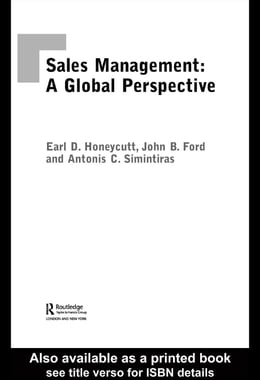 Book Sales Management: A Global Perspective by Ford, John B.