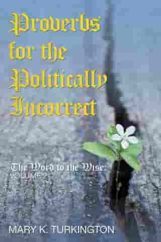 Proverbs for the Politically Incorrect: The Word to the Wise: Volume 2 by Mary K. Turkington