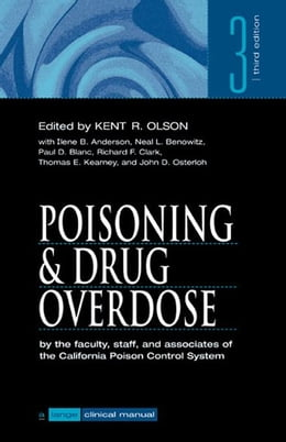 Book Poisoning & Drug Overdose by Olson, Kent