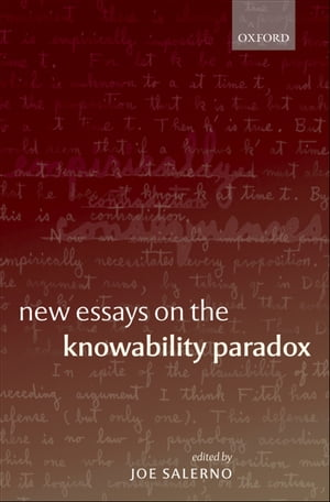 New Essays on the Knowability Paradox