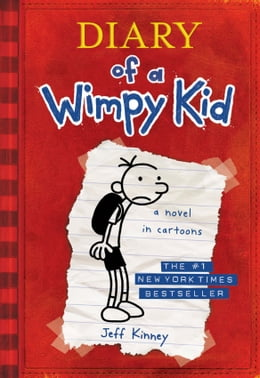 Book Diary of a Wimpy Kid by Jeff Kinney