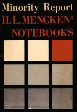 Book Minority Report by H.L. Mencken