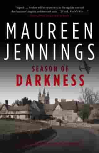 Season of Darkness by Maureen Jennings