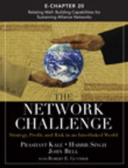 Book The Network Challenge (Chapter 20): Relating Well: Building Capabilities for Sustaining Alliance… by Prashant Kale