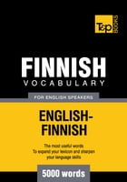 Finnish vocabulary for English speakers - 5000 words by Andrey Taranov