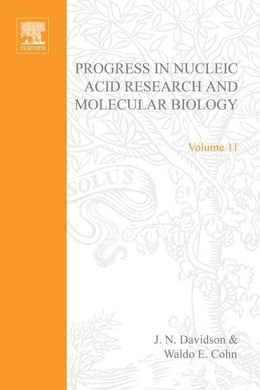 Book Progress in Nucleic Acid Research and Molecular Biology by Davidson, J. N.