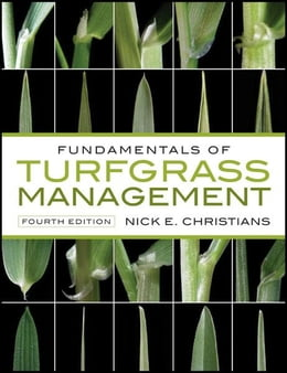 Book Fundamentals of Turfgrass Management by Nick Christians