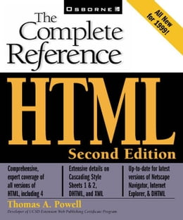Book HTML: The Complete Reference by Powell, Thomas