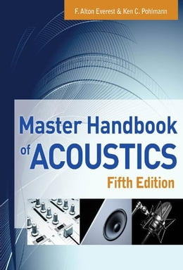 Book Master Handbook of Acoustics by F. Alton Everest