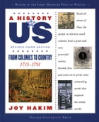 A History of US: From Colonies to Country: 1735-1791