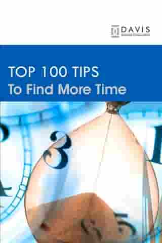Top 100 Time Management Tips