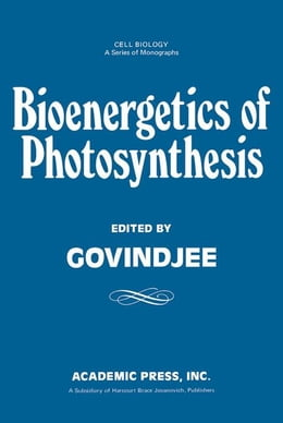 Book Energetics of Photosynthesis by Govindjee, Unknown