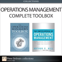 Book The Operations Management Complete Toolbox (Collection) by Randal Wilson