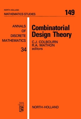 Book Combinatorial Design Theory by Colbourn, C.J.