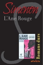 L'âne rouge: Romans durs by Georges SIMENON