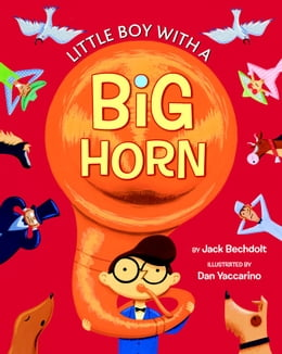 Book Little Boy with a Big Horn by Golden Books