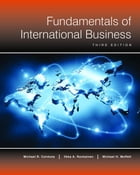 Fundamentals of International Business (3rd Edition) by Michael Czinkota