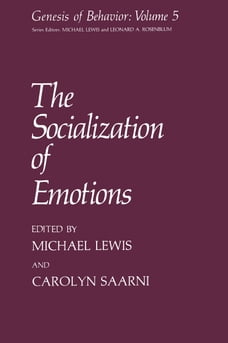 The Socialization of Emotions