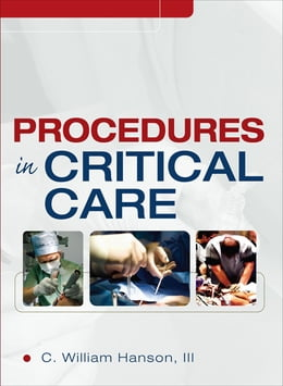 Book Procedures in Critical Care by C. William Hanson