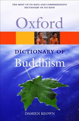 Book A Dictionary of Buddhism by Damien Keown
