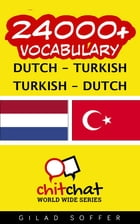 24000+ Vocabulary Dutch - Turkish