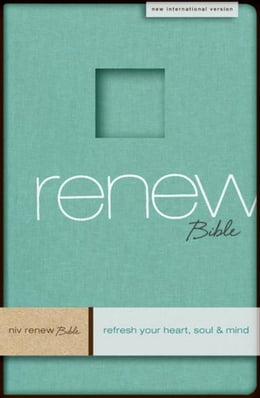 Book NIV Renew Bible: Refresh Your Heart, Soul and Mind by Zondervan