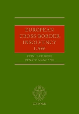 Book European Cross-Border Insolvency Law by Reinhard Bork