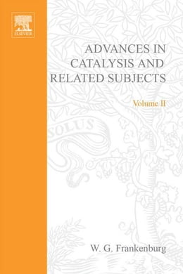 Book Advances in Catalysis by Frankenburg, W. G.